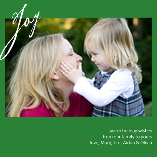 holiday photo cards - Simply Joy by Simply Paige