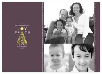 Tree of Joy Holiday Photo Cards