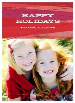 Ruby Ribbons Holiday Photo Cards