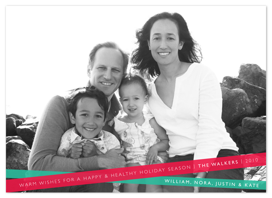 holiday photo cards - Wrapped Up by Alston Wise