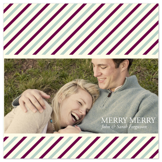 holiday photo cards - Merry, Merry by Jen Gebrosky