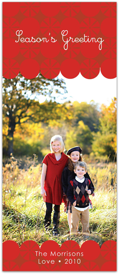 holiday photo cards - The Red Happiness by Everyday Greeting