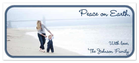 holiday photo cards - Peace on Earth by Annie Walsh