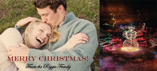 holiday photo cards - lights by Danielle  Kasony