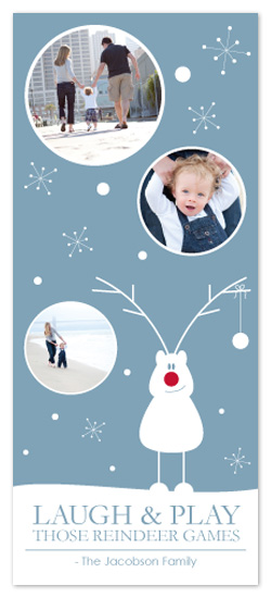 holiday photo cards - Those Reindeer Games by Paige Murphy