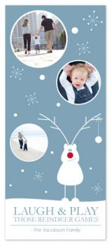 Those Reindeer Games Holiday Photo Cards
