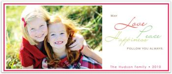 Simply Happiness  Holiday Photo Cards