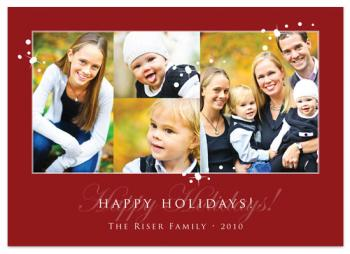 Bright Stars Holiday Photo Cards