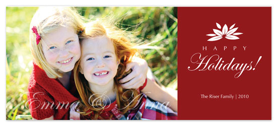 holiday photo cards - Happy Holidays by Beverly Surratt