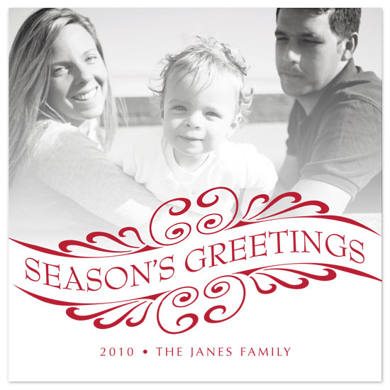 holiday photo cards - Season's Greetings by Beverly Surratt