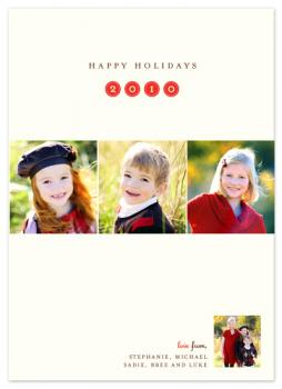 Holiday Portraits Holiday Photo Cards