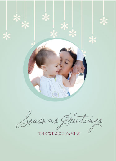 holiday photo cards - Retro Holiday Card by Jen Gebrosky