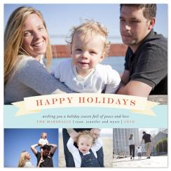 Banner Holiday Holiday Photo Cards