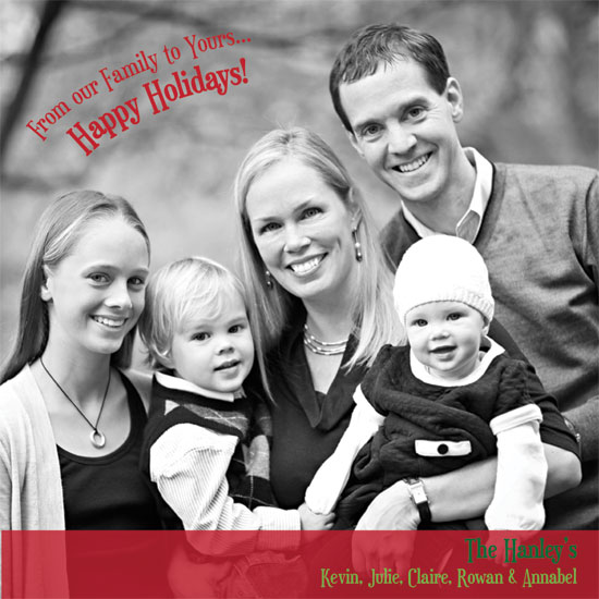 holiday photo cards - our family by Rosemary Maritote