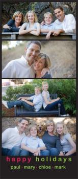 photo strip Holiday Photo Cards