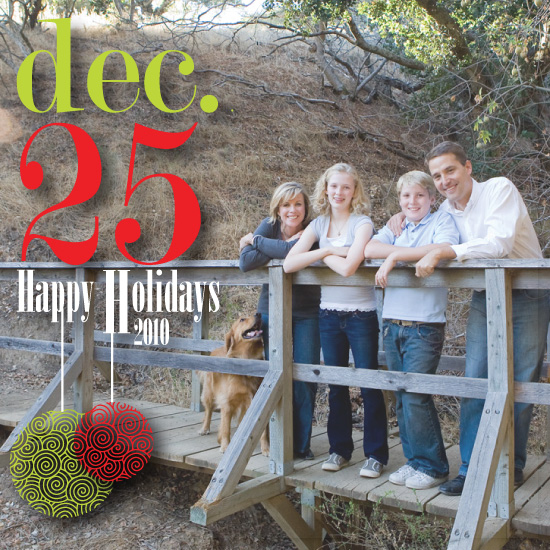 holiday photo cards - A Holiday Date by Kelly Solheim