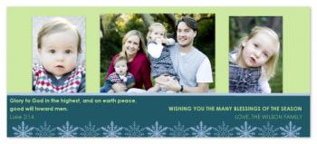 Many Blessings Holiday Photo Cards