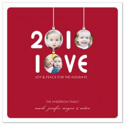 2010 Love Holiday Photo Cards