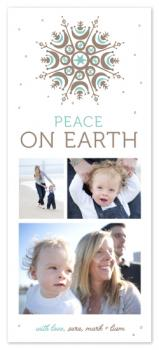 Cool and Calm Holiday Photo Cards