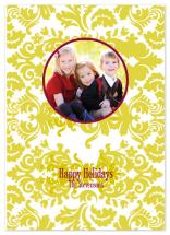 Holiday Damask by Etched
