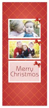 Red Christmas Holiday Photo Cards