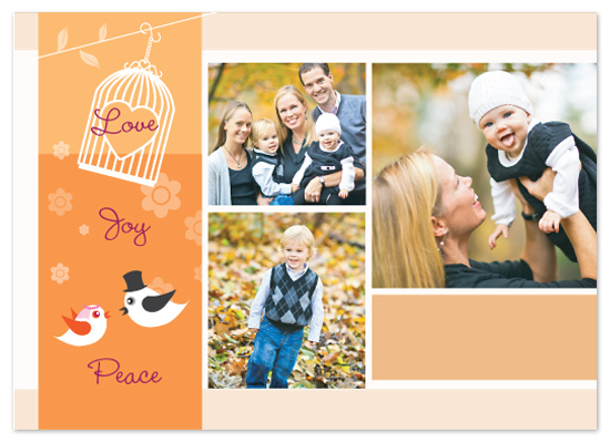 holiday photo cards - Peaceful Days by Janice.S