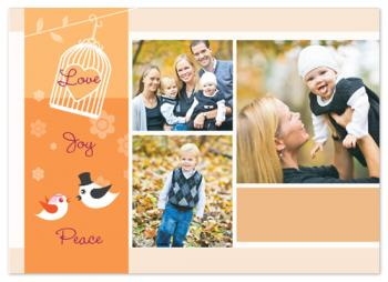 Peaceful Days Holiday Photo Cards
