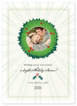 Holly Jolly Holiday Holiday Photo Cards
