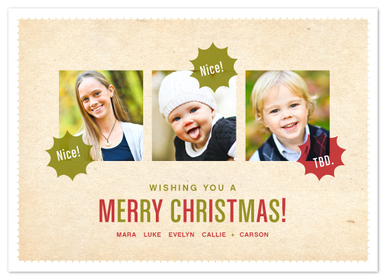 holiday photo cards - The Verdict by Jody Wody