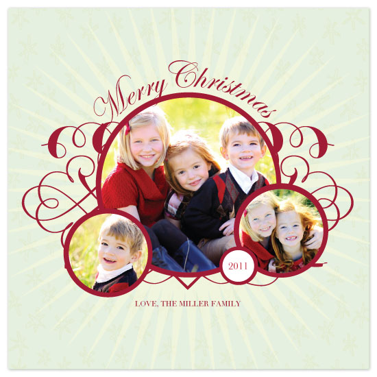 holiday photo cards - A Bright Christmas by Julia