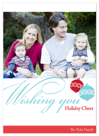 holiday photo cards - Wishing You Holiday Cheer! by Megan Bryan