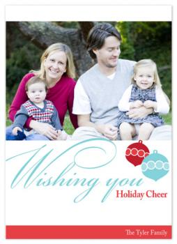 Wishing You Holiday Cheer! Holiday Photo Cards