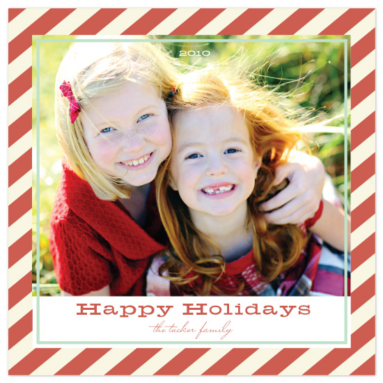 holiday photo cards - vintage holiday by Katie Leggitt