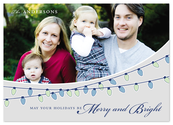 holiday photo cards - Merry and Bright by Bethany Anderson