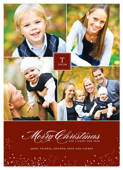 holiday photo cards - Time-Honored Christmas by Jennifer Postorino