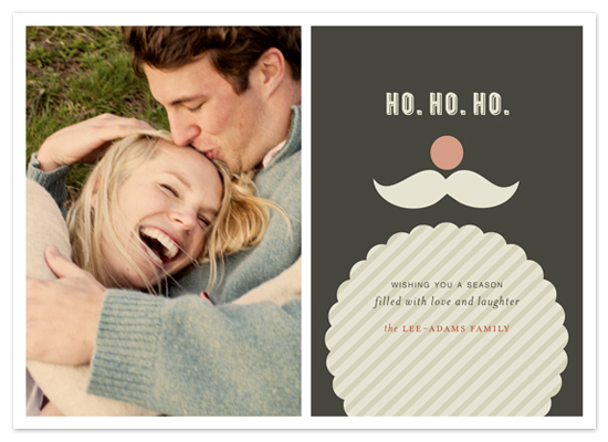 holiday photo cards - JOYEUX NOËL + st. nicholas by Emily Ranneby