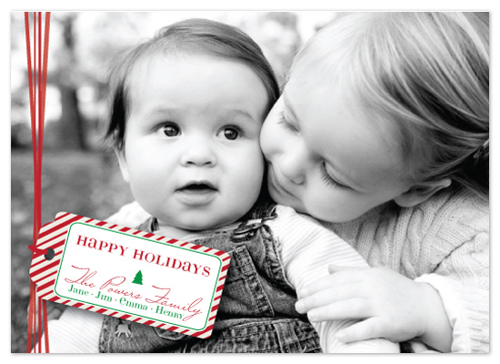 holiday photo cards - Gifted
