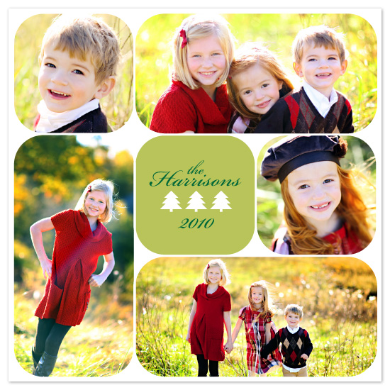 holiday photo cards - Mini Tree by Audrey Clayton