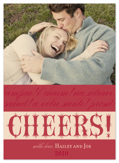 holiday photo cards - Global Cheers by hannahcloud DESIGN