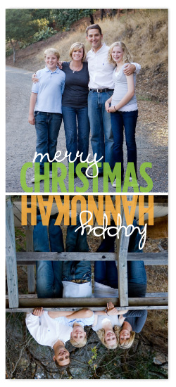 holiday photo cards - Dual Holidays by Kate Carpenter