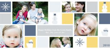 Winter Fun Holiday Photo Card