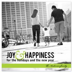 Simply Joyful Holiday Photo Cards