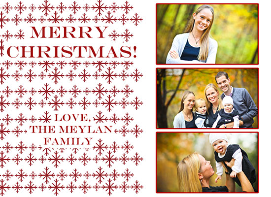 holiday photo cards - RED2 by Danielle  Kasony