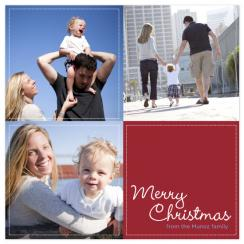 Christmas Quilt Holiday Photo Cards