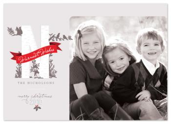 Woodland Wonderland Holiday Photo Cards