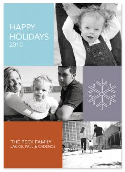 Modern Family Holiday Photo Cards