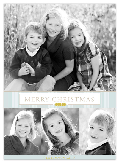 holiday photo cards - Simply Christmas by SunnyJuly