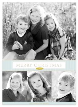 Simply Christmas Holiday Photo Cards