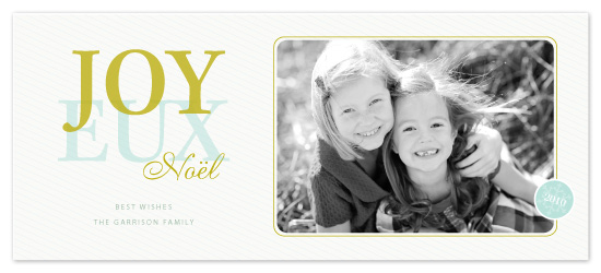 holiday photo cards - Over joy by SimpleTe Design