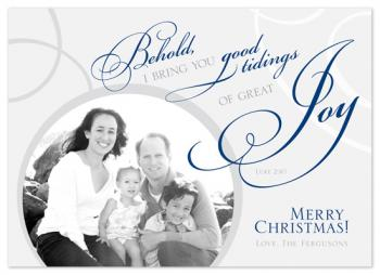 Behold Great Joy! Holiday Photo Cards